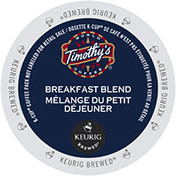 Timothy's Breakfast Blend Keurig®  K-Cup®  coffee