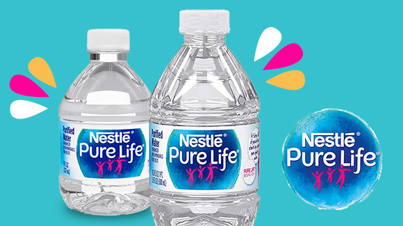 nestle pure life - new to box tops
