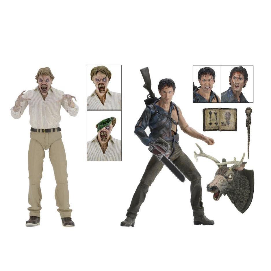 Image of Evil Dead 2 - 30th Anniversary Boxed Set (Hero Ash and Deadite Ed)