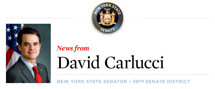 News From Senator David Carlucci