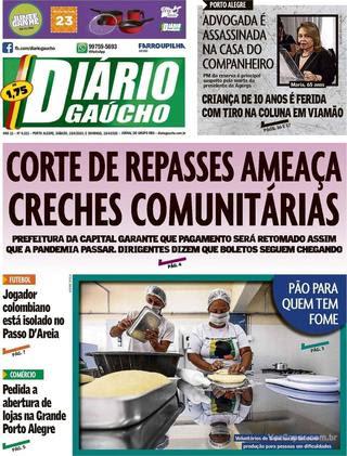Capa Diário Gaúcho