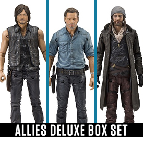 THE WALKING DEAD ALLIES DELUXE BOX SET