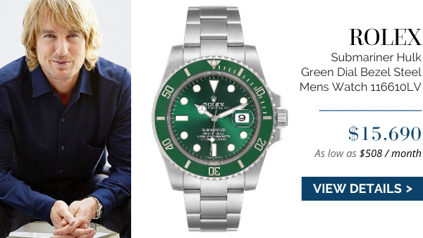 Submariner Hulk Green Dial Bezel