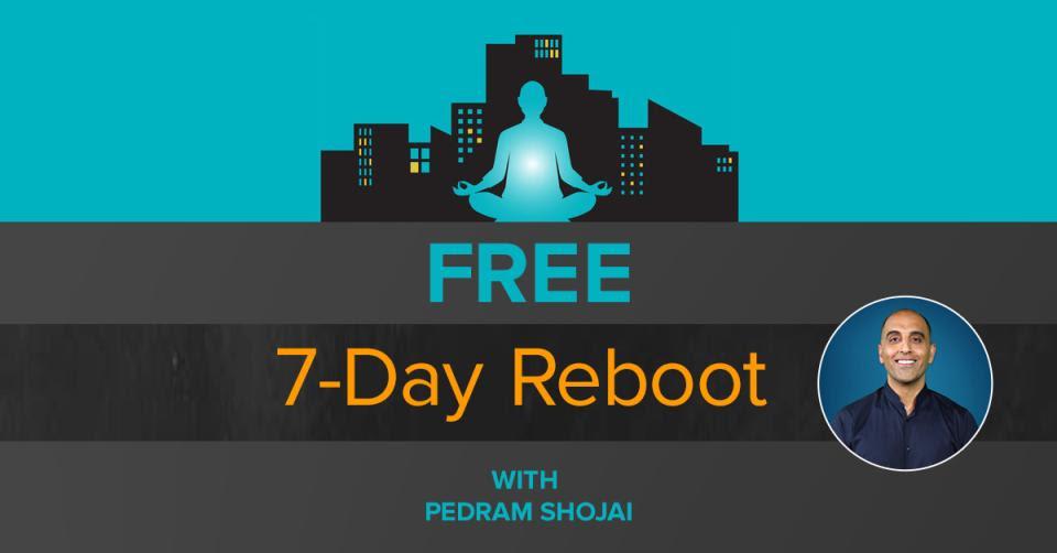 The Urban Monk 7-Day Reboot with Pedram Shojai