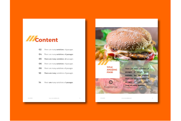 Recipes eBook PowerPoint sample