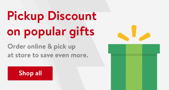 Pick-up discount on popular gifts