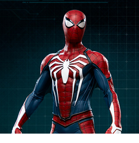 Spider-Man (2018 Video Game) Spider-Man (Advanced Suit) 1/10 Scale Statue