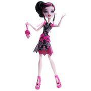 Boneca Monster High Monstros Câmera Ação Draculaura - Mattel