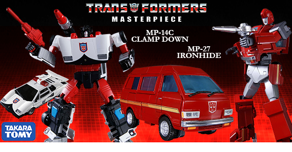 MP-27 IRONHIDE & MP-14C CLAMP DOWN
