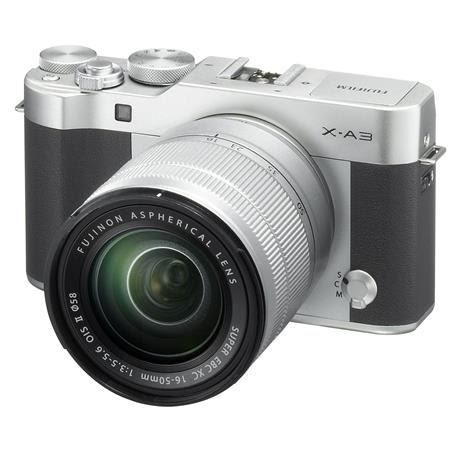 X-A3 Mirrorless Camera with XC 16-50mm OIS II Lens, Silver