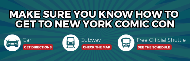 Make Sure You Know How To Get to NYCC