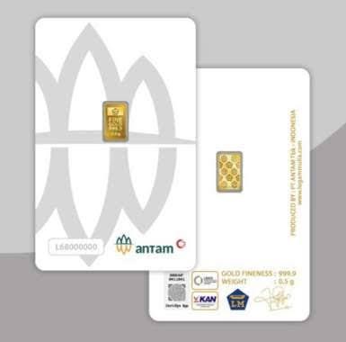 Antam Logam Mulia [0,5 g/ CertiCard]