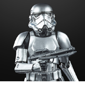 Star Wars: The Black Series Stormtrooper (Carbonized)