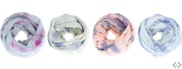 plaid infinity scarf for $3.99