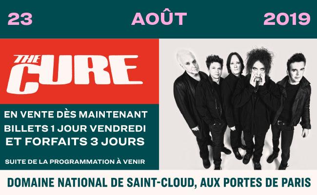 Rock en Seine 2019  Ouverture de la billetterie !