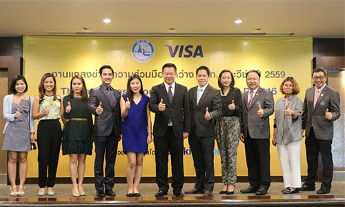 TAT continues its support for Visa on campaigns to stimulate tourists spending_3-500x300