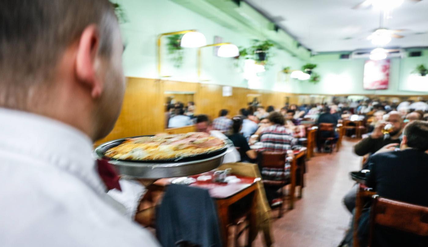 Salón de Pizzería