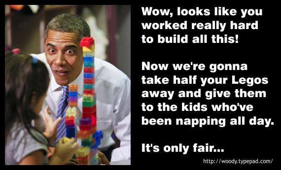Woody's Place: Obama's Lego Lesson On Socialism: Obama Lego, Reference Obama, Obama Big, Woody Places, Generation Stuff, Hummm Obama, Lego Lessons, Funny Stuff, Fair