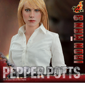 HOT TOYS 1/6 SCALE PEPPER POTTS