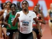 Two-time Olympic and triple world champion, South Africa runner, Caster Semenya struggles with abnormally high testosterone levels.