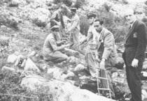 Foto d'archivio delle foibe (ANSA)