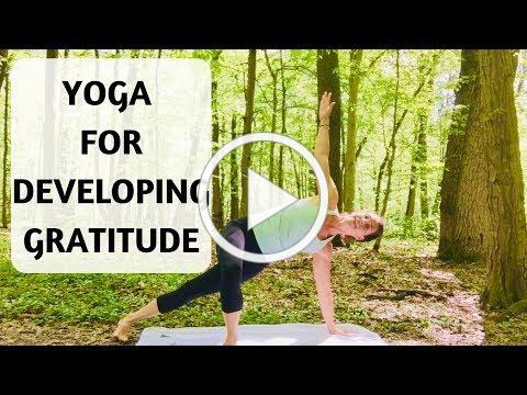 YOGA FOR DEVELOPING GRATITUDE - YOGA WITH MEDITATION MUTHA