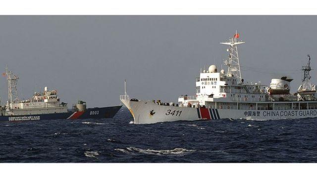 Vietnam, China, South China Sea