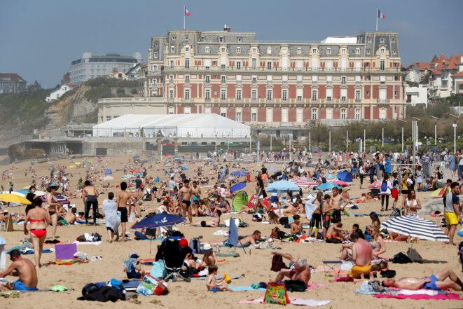 Biarritz, en avril 2018. © REUTERS