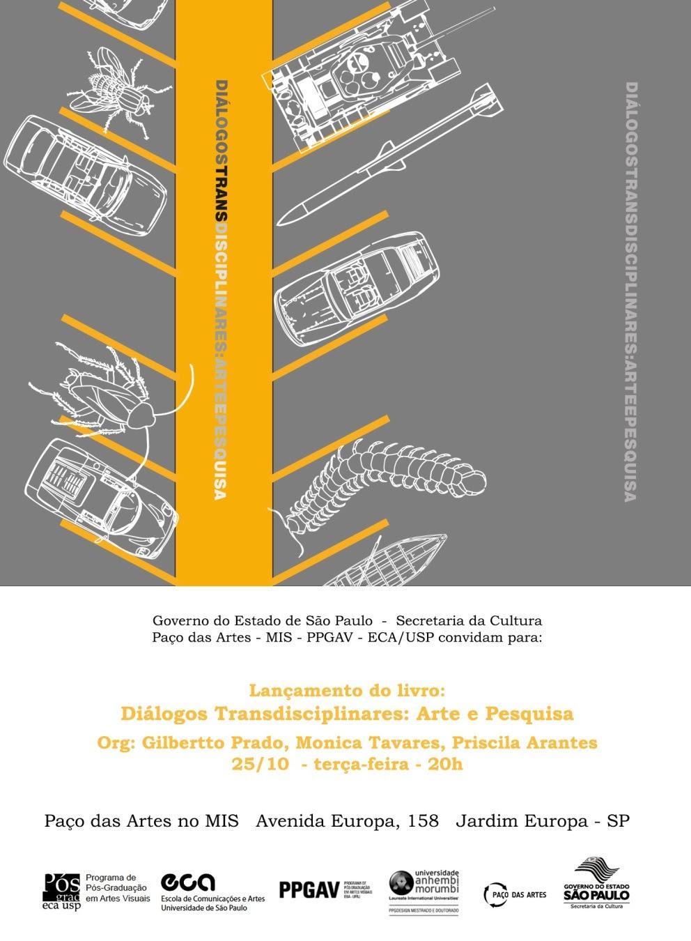 Seminário Internacional Diálogos Transdisciplinares: Arte e Pesquisa