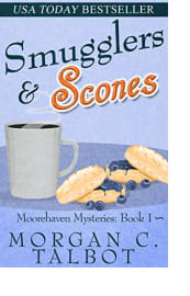 Smugglers & Scones by Morgan C. Talbot