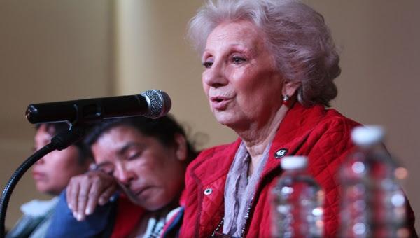 Estela de Carlotto precisará los detalles de la identidad del nuevo nieto recuperado este martes