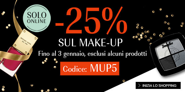 -25% sul make-up