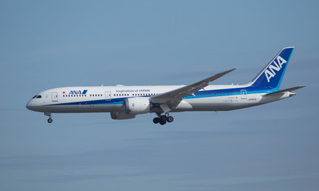 Boeing 787-9 ANA JA897A | is due: January 2020