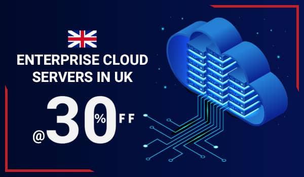 WHUK - Enterprise Cloud Servers in UK at 30% OFF
