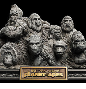 PLANET OF THE APES STATUE