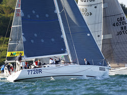 Sailing J.P. Morgan Round Island Race