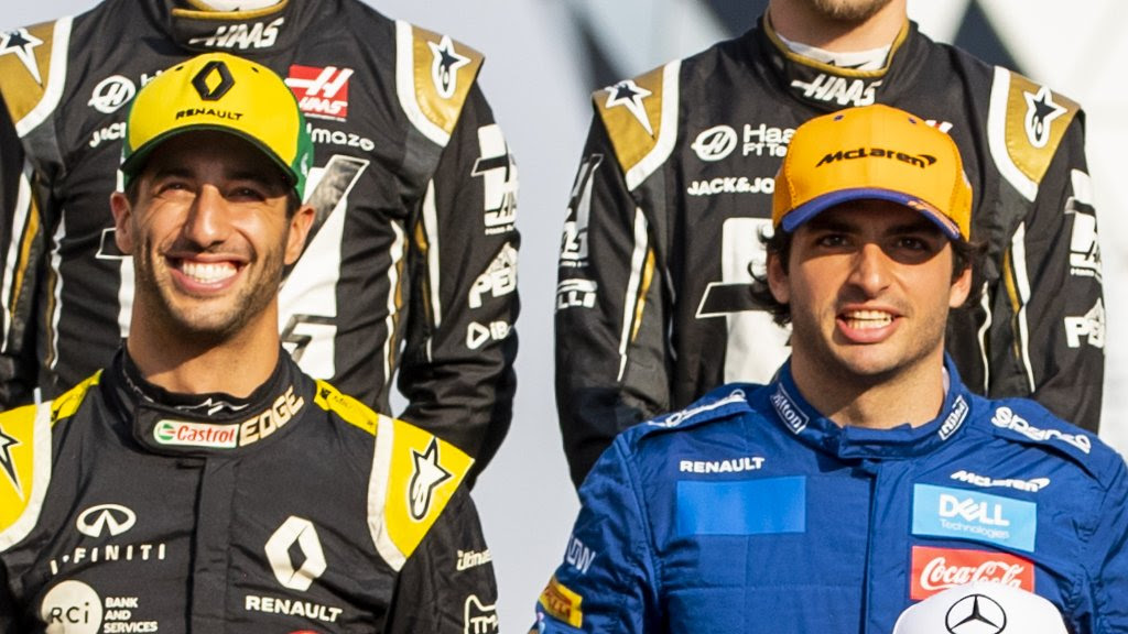 Ferrari sign Sainz & Ricciardo goes to McLaren for 2021 Formula 1 season