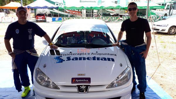 O piloto Luiz Poli e o navegador Damon Alencar estão confirmados para a disputa (Divulgação)