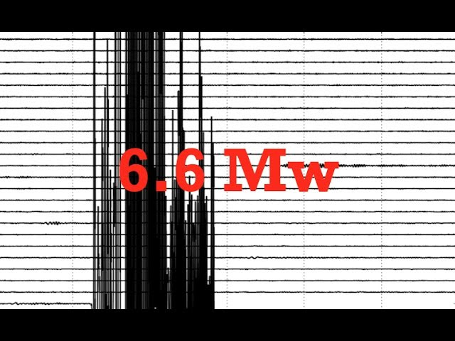 *Big Quake* - SHALLOW 6.6 M 40 miles from erupting Volcano!  Sddefault