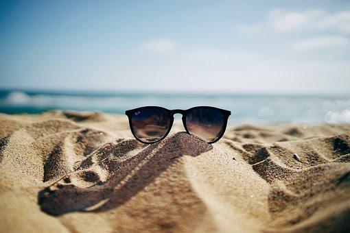 Beach, Hämärtää, Lähikuva, Rannikko