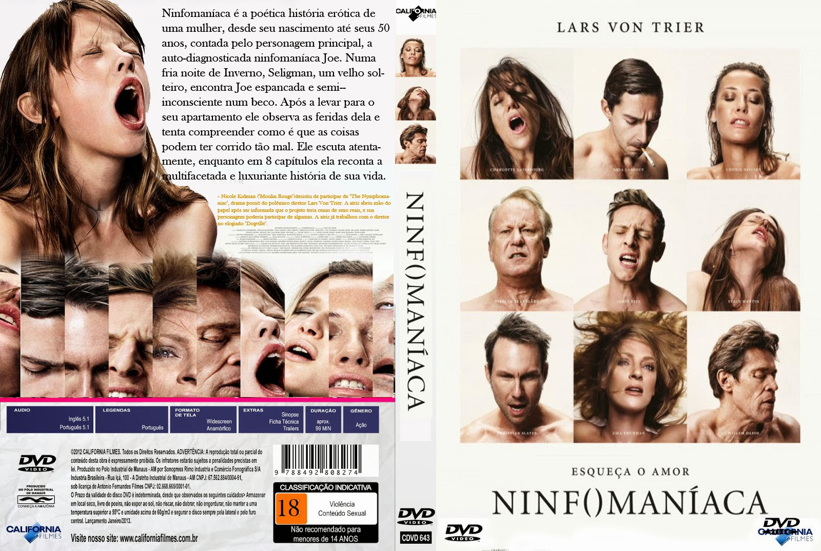 Ninfomaníaca Volume 1 – Sem Cortes Torrent – BluRay Rip 1080p Dublado (2014)