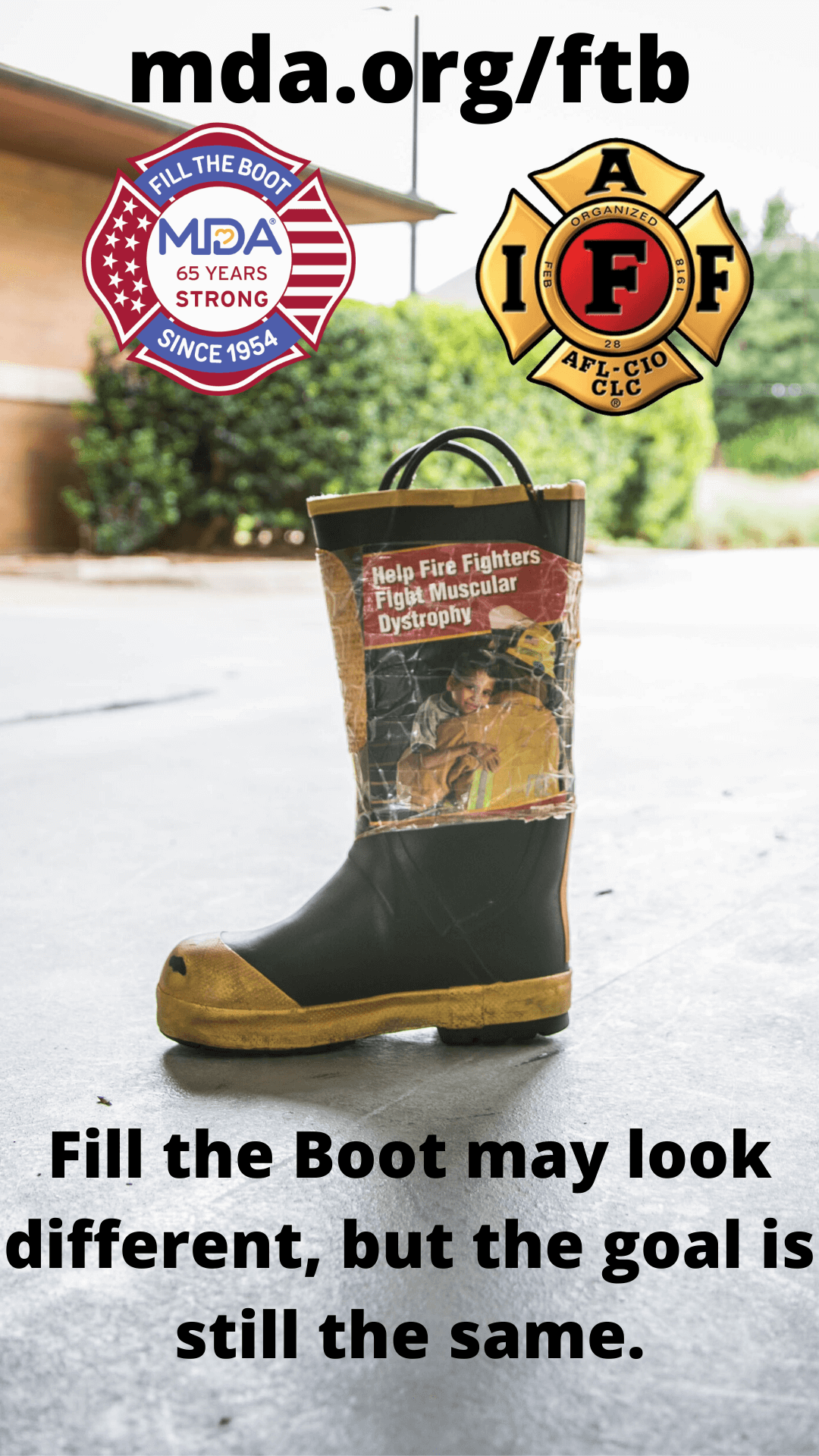 Virtual Fill The Boot Campaign