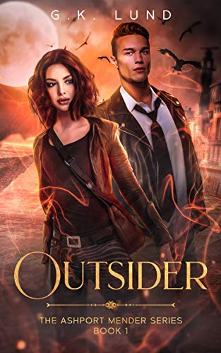 Cover for 'Outsider (The Ashport Mender Series Book 1)'