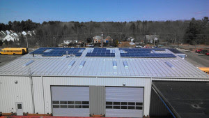 Solar on Town of Yarmouth Public Works Garage