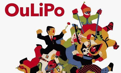 Front cover of the book OuLiPo. Es un oficio de hombres (Autorretrato de hombres y mujeres en reposo). La uÑa RoTa, 2015. Illustration by Daniel Montero Galán (detail)