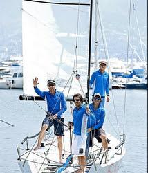 J/70 sailing team in Acapulco