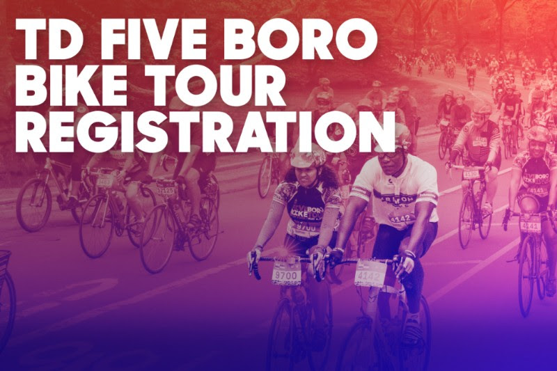 Registration For 2019 Td Five Boro Bike Tour Registration Opens November 14th Staten Island Nyc Living