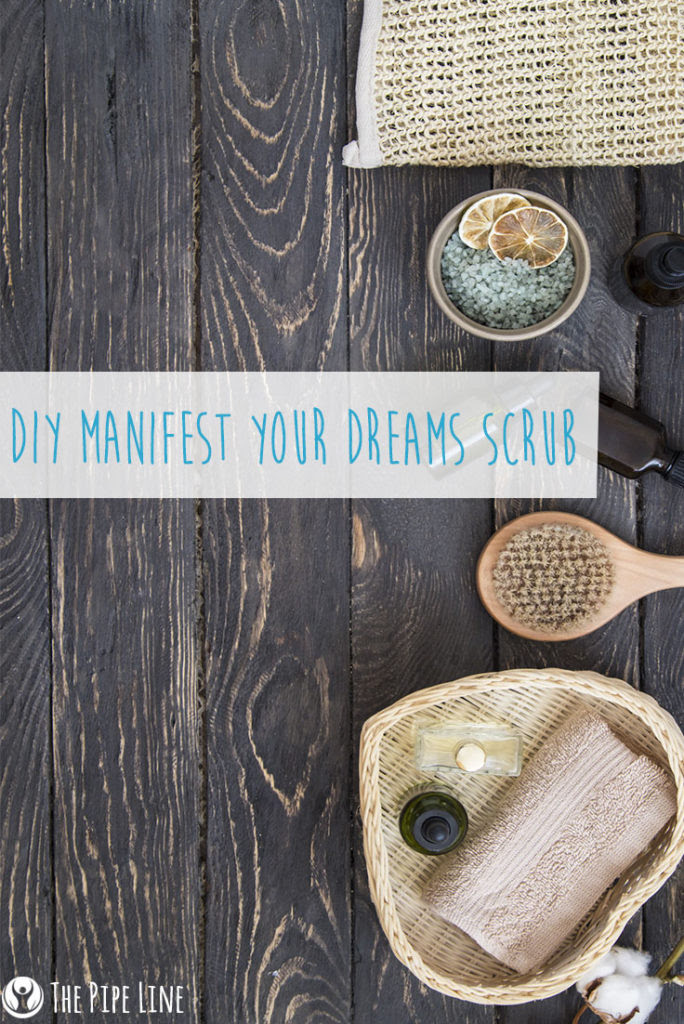 DIY Manifest Your Dreams Scrub...
