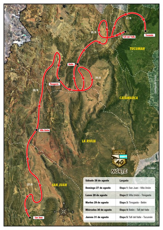 Desafio Ruta 40