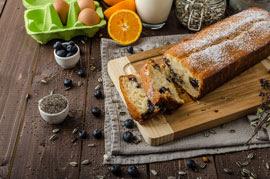 cutting board w foods
